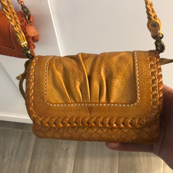 "fca60afeb Frye Handbags - Frye Mini Cross body leather wallet bag ""Maddy"""